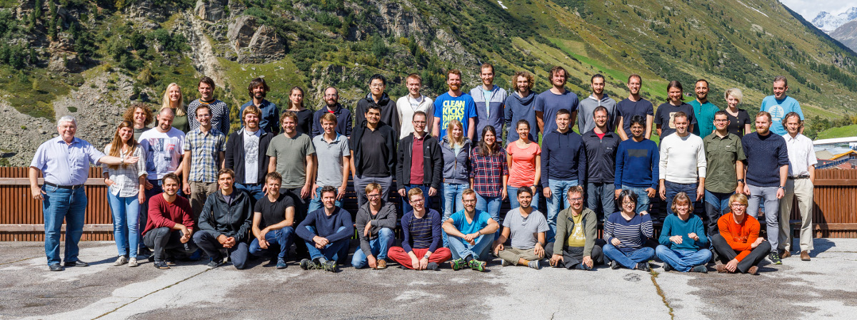 Blatt group in Obergurgl, September 2019